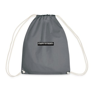 awesome font - Drawstring Bag