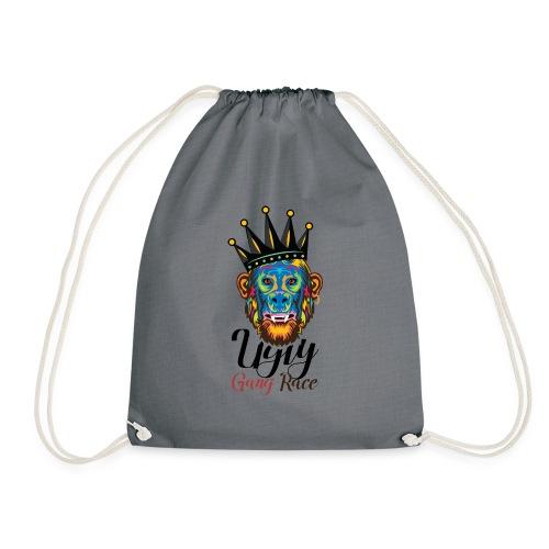 Mind Your Monkey Business! - Drawstring Bag