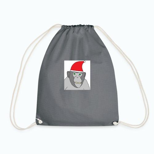 Christmas Chimp - Turnbeutel