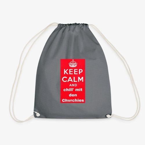 Keep calm chvrchies - Turnbeutel