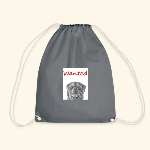 WANTED Rottweiler - Drawstring Bag