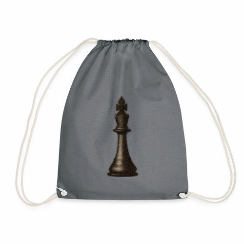 King / Queen chess logo premium wear - Turnbeutel