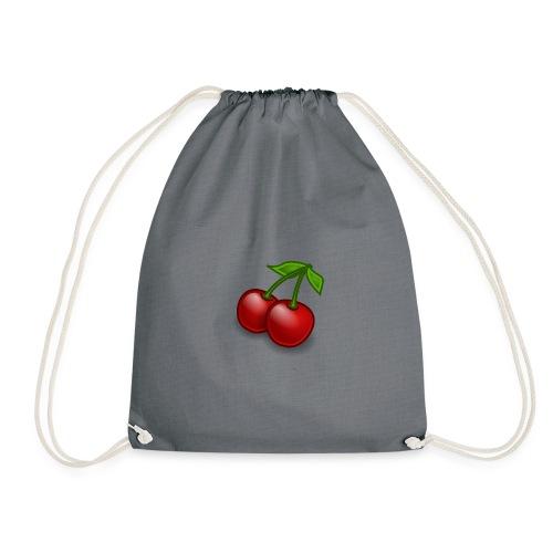 Kirschen Früchte Obst Geschenkidee - Turnbeutel