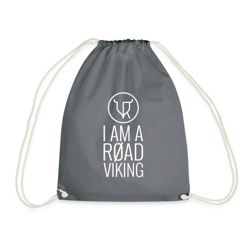 Road Vikings - security jacket - text - Drawstring Bag