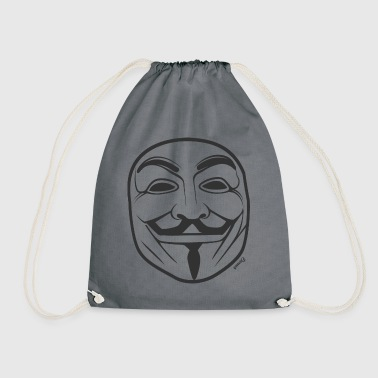 * NEW * Anonymous (H) - Drawstring Bag