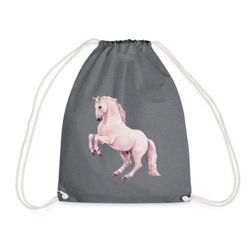 White stallion - Turnbeutel