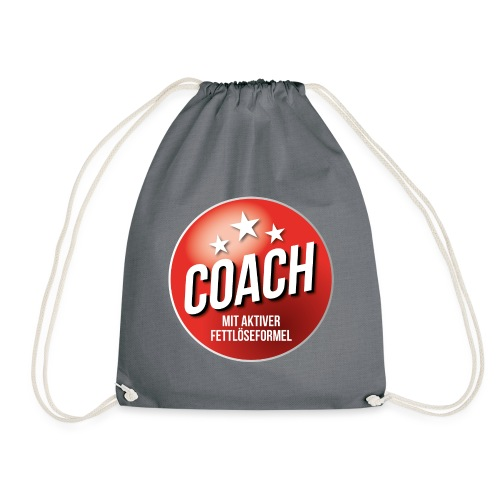 Fußball Coach Trainer Fett weg Soccer - Turnbeutel