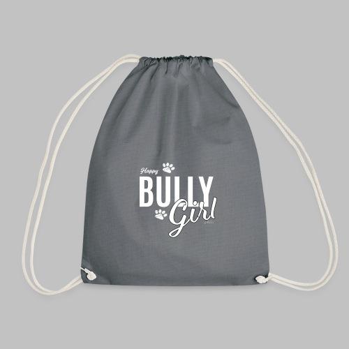 Happy Bully Girl - Französische Bulldogge Frenchie - Turnbeutel
