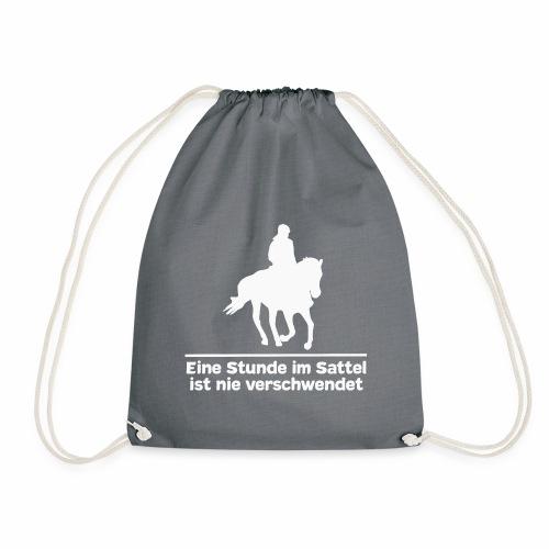 Reiten Pferde Pferdesprüche T-Shirt Pferdemädchen - Turnbeutel