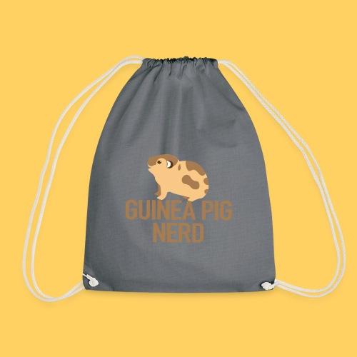 Guinea pig nerd - Drawstring Bag