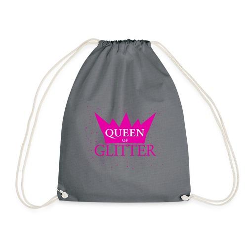 Königin des Glitzer - Turnbeutel