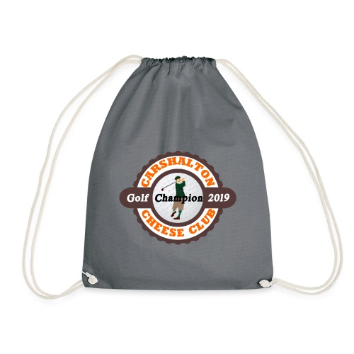 Cheese Club 2019 Golf Champion - Drawstring Bag