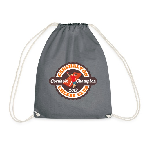Cheese Club 2019 Cornhole Champion - Drawstring Bag