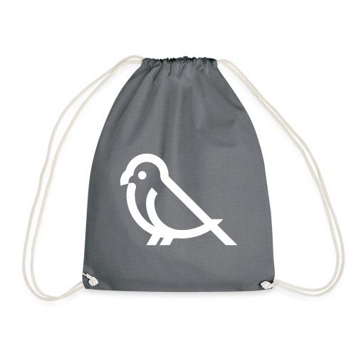 bird weiss - Turnbeutel