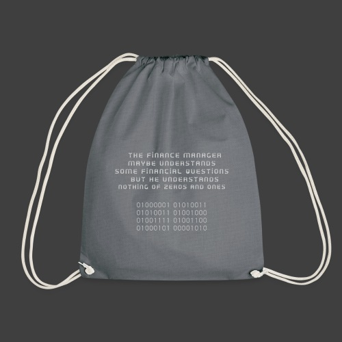 The Financial - Drawstring Bag