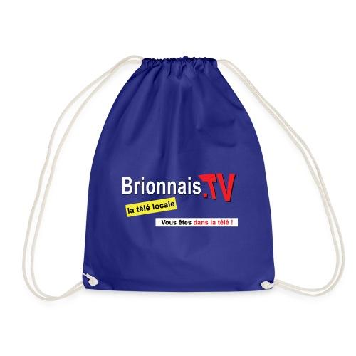 BTV logo shirt dos - Sac de sport léger