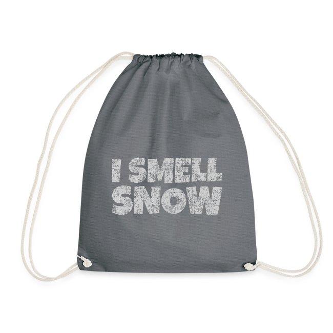 I Smell Snow (Grau) Schnee, Winter, Wintersport