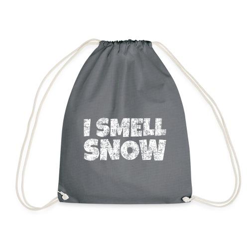 I Smell Snow Schnee, Weihnachten & Wintersport - Turnbeutel
