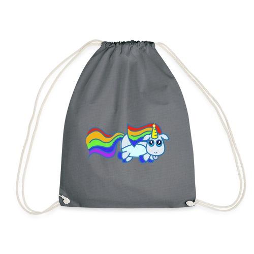 Nyan unicorn - Sacca sportiva