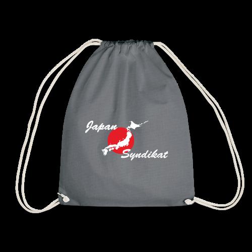 Japan-Syndikat Logo white - Turnbeutel