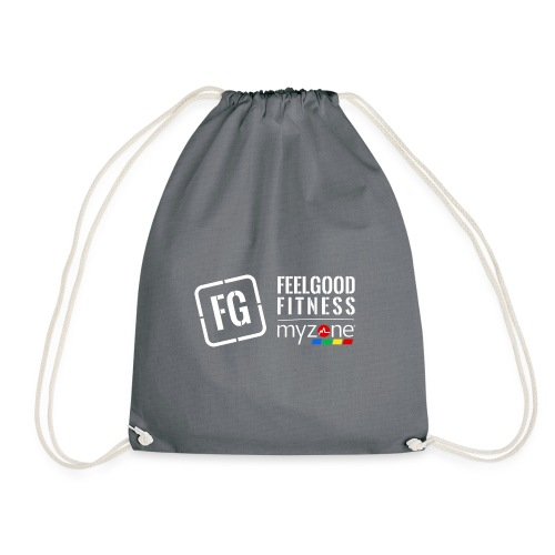 feelgood myzone merch - Drawstring Bag