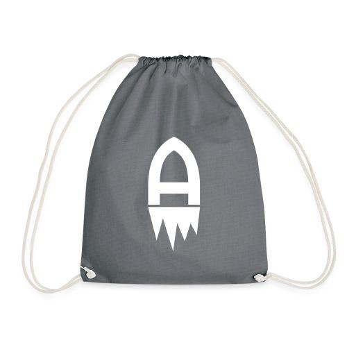 Adelite - Weisses Logo - Turnbeutel