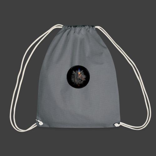 Some greys some colors - Drawstring Bag