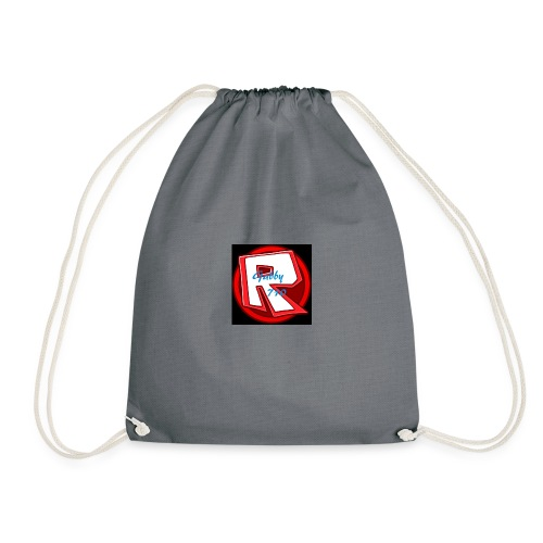 Roblox iPhone case with Gabby710 text. - Drawstring Bag