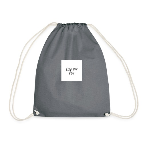 Find your Fire - Drawstring Bag