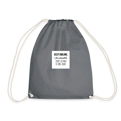 smileing - Drawstring Bag