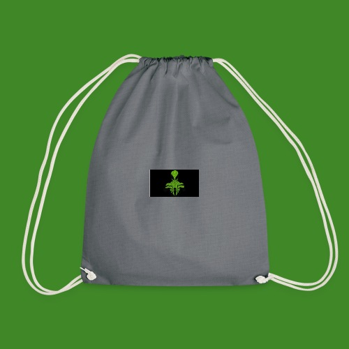 Green spiderman - Drawstring Bag