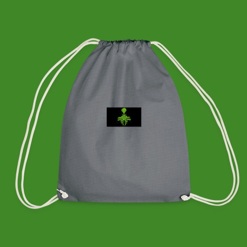 Green spiderman - Drawstring Bag