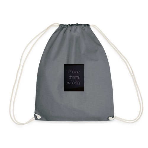 The Prover - Drawstring Bag