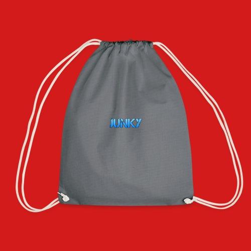 Junky Skate Blue - Drawstring Bag