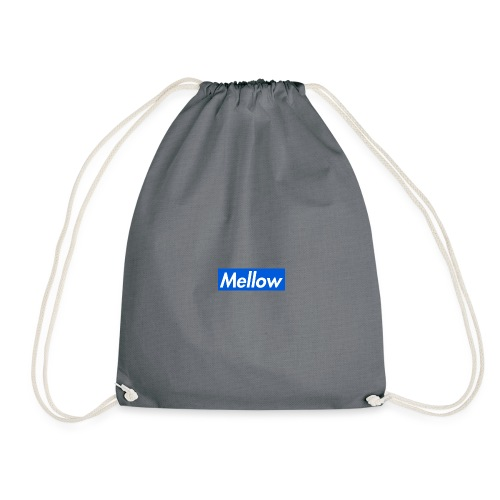Mellow Blue - Drawstring Bag