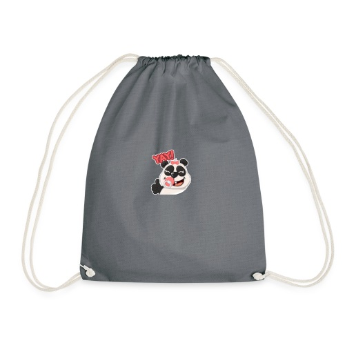 Baby Panda Girl - Drawstring Bag