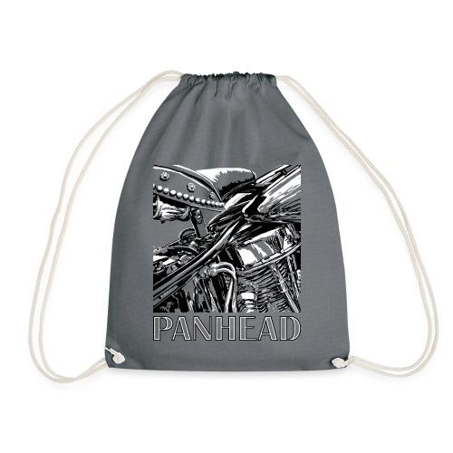 Panhead motordetail 04 - Gymtas