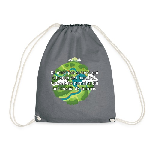 our earth - Drawstring Bag