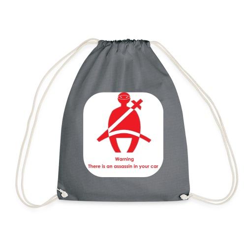 Hey assassin - Drawstring Bag