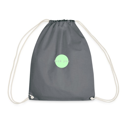 'F*CK YOU' Design - Drawstring Bag