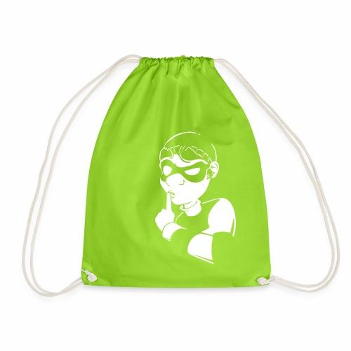 Bob Sssh - Drawstring Bag