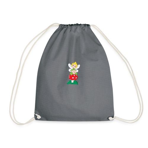 Balloon Fairy & Toadstool - Drawstring Bag