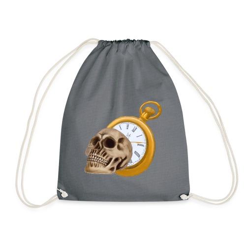 Time to die - Drawstring Bag