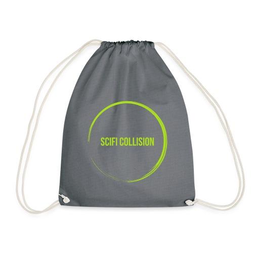 Lime Green SC Logo - Drawstring Bag