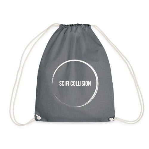 White Logo - Drawstring Bag