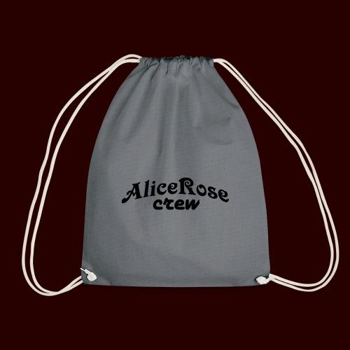 Crew Black - Drawstring Bag