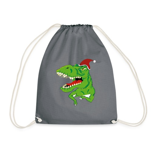 Navidad dinosaurio - Mochila saco