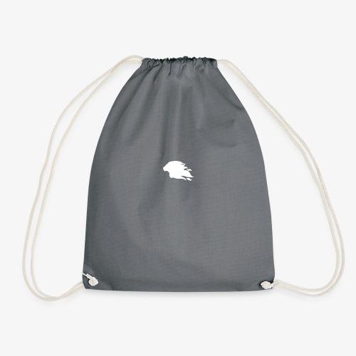 PR3DATOR (Half Logo) [White] - Drawstring Bag