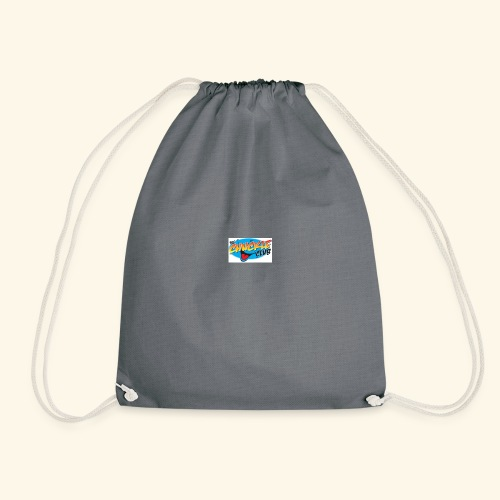 chuckle cheese - Drawstring Bag