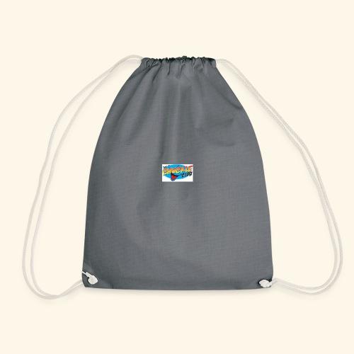 chuckle cheese - Drawstring Bag